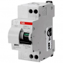 ABB DS91LC6AC30 DS901L C6 30MA AC INTERRUTTORE DIFFERENZIALE 4,5KA 1P+N