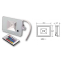 ELCART PROIETTORE LED SLIM RGB 770lm 30W IP65