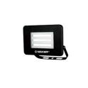VELAMP PROIETTORE LED IS740-3-6500K 10W 800 LUMEN FARETTO NERO IP65