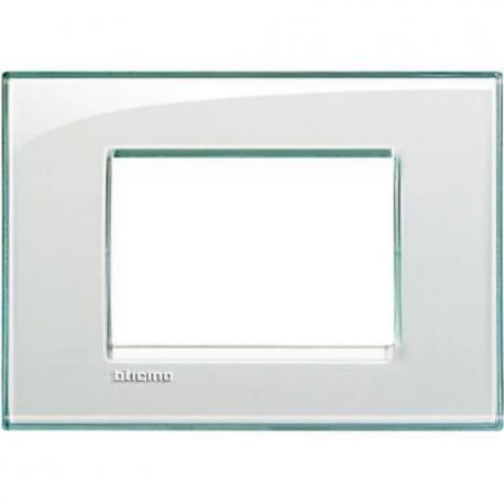 BTICINO - LIVINGLIGHT PLACCA QUADRA 3 MODULI ACQUAMARINA LNA4803KA LNA4803KA Bticino LivingLight Placche Quadre 6,71 €