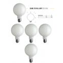 5 LAMPADINE GLOBO 125 FULL LIGHT 11W 2700K 1521Lm E27