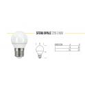 LAMPADINA LED 220 - 240V SFERA OPALE 4000K E27 7,5 WATT 806LM