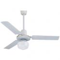 Ventilatore a soffitto con luce diametro 120 cm Melchioni Zephir modello ZFS8123