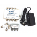 MITAN KIT M4x1SCR MULTISWITCH SCR 4 INGRESSI 1 USCITA + SCR4X4 + DV204 + ALIMENT.