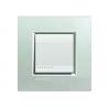 BTICINO - LIVINGLIGHT PLACCA QUADRA 2 MODULI ARGENTO LNA4802AG LNA4802AG Bticino LivingLight Placche Quadre 12,52 €