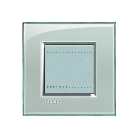 BTICINO - LIVINGLIGHT PLACCA QUADRA 2 MODULI GRIGIO GHIACCIO LNA4802KG LNA4802KG Bticino LivingLight Placche Quadre 5,86 €