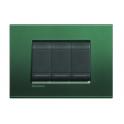 BTICINO - LIVINGLIGHT LNA4803PK PLACCA QUADRA 3 MODULI PARK