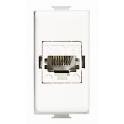BTICINO MATIX CONNETTORE TELEFONICO RJ45 CONNESSIONE 110 IDC AM5974AT6