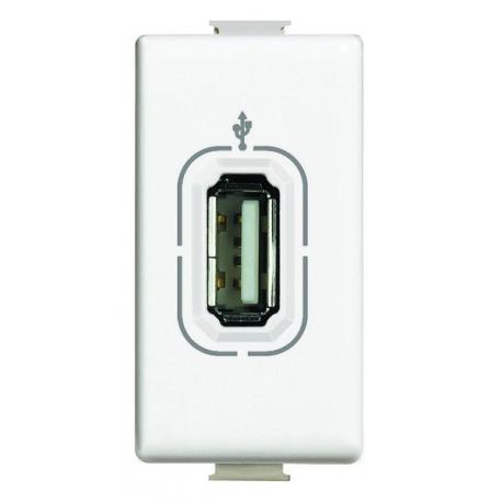 BTICINO MATIX CONNETTORE USB AM4285 DATI NON ALIMENTATO AM4285-NO Bticino Frutti Matix 7,05 €